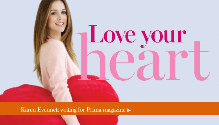 Love your Heart Prima Magazine by Karen Evennett